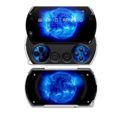 PSP Go Skin Designfolie Design Aufkleber modding Sticker Schutzfolie mit coolem Motiv - Blue Giant (Psp Skin Aufkleber)