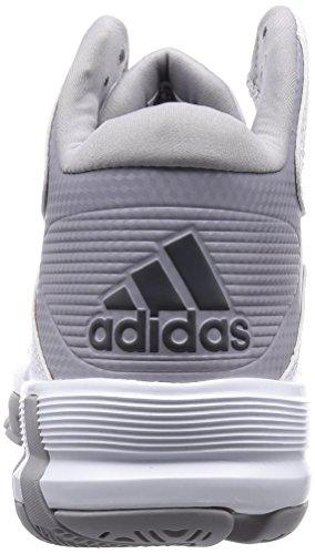 Adidas D Howard 6 Basketballschuhe Weiß / Grau / Schwarz