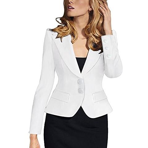 Value Buy Go Go Go - Veste de tailleur - Femme - blanc - 38