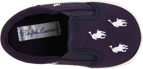 Polo Ralph Lauren Bal Harbour Repeat Layette Navy Textile Soft Soles Navy
