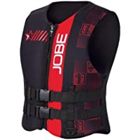 Jobe Progress Neo Vest Men - RED Neopren Weste - Boot Schwimmweste Wakeboard Kite Wasserski Jetski Weste