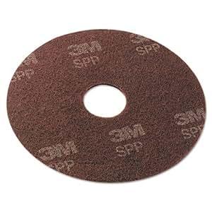3M SPP19 Pr-paration de la surface Pad, 19 pouces, Bordeaux, 10 par carton