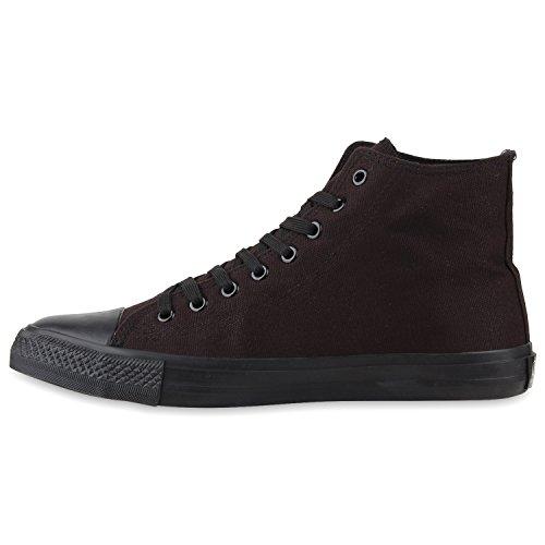 Lazer Sapatilhas Superiores Atléticos Sapatos Preto Totalmente Homens Altas De Sapatilhas Eqvp0