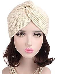 Amazon.es  turbantes para mujer - Gorros de punto   Sombreros y ... f4f9c0d5978