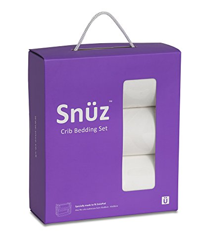 Snuz Crib Bedding Set (Fits SnuzPod and Chicco Next2Me)
