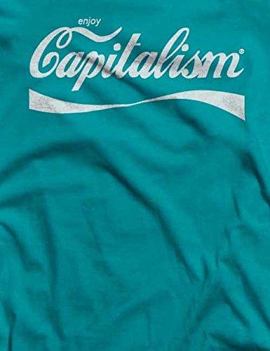 Enjoy Capitalism T-Shirt S-XXL 12 Farben / Colours Türkis