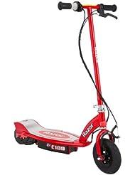 Razor E100 - Scooter eléctrico, color rojo