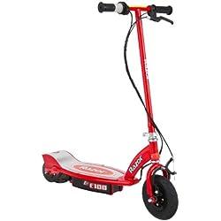 Patinete eléctrico para niños Razor E100 , color rojo