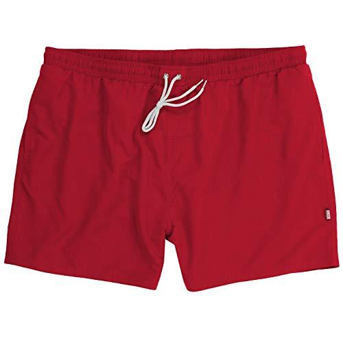 ADAMO Jamaica - Bañador para Hombre Tallas XXL hasta 12XL, Color Rojo Rojo 7XL