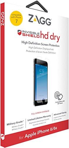 invisibleSHIELD HD Dry Displayschutz für Apple iPhone