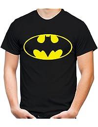 Batman Logo Männer und Herren T-Shirt | Spruch Retro Comic Geschenk