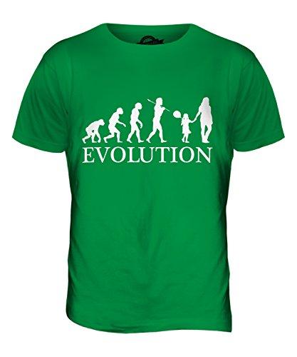 CandyMix Geburtstag Mädchen Evolution Des Menschen Herren T Shirt Grün