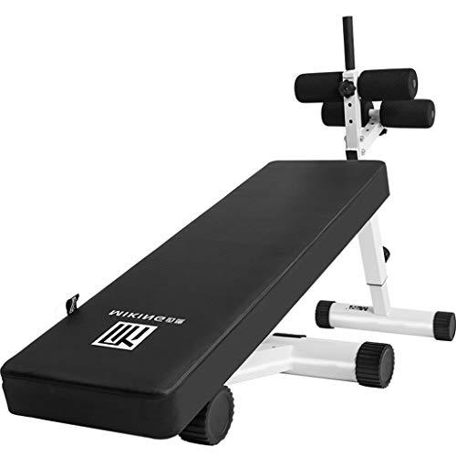 Sit-Up-Bank Gymnastik üBung Ablehnen Einstellbare Trainingsbank Faltbares Fitnesstraining Ab Crunch Heim-Sit-Up-Board (Ab Crunch Und Sit Up Bank)