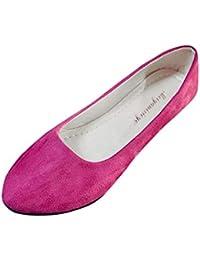 Amlaiworld Zapatos Planos Mujer Alpargatas Bailarinas Zapatillas sin Cordones para Mujer Zapatos Casuales Mocasines Zapatillas Zapatos