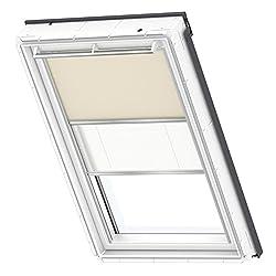 VELUX Original Verdunkelung Plus für Dachfenster, C06, Uni Beige/Weiß