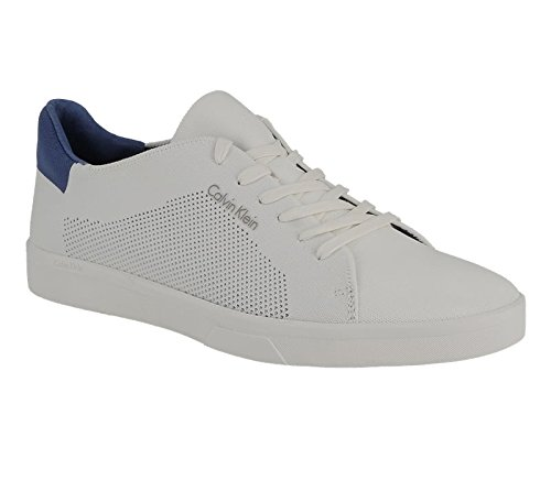 calvin-klein-jeans-hombres-blanco-ion-2-knit-weave-zapatillas-uk-7
