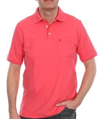 CASAMODA Herren Poloshirt Comfort Fit, Piqué 004510/413, Gr. 50 (M), Rot (413 koralle)