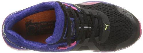 Puma Faas 500 V3 Wn's, Chaussures de Sport Femme Noir/bleu/violet betterave