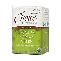 Choice Organic Teas Premium Korean Green (6x16 BAG)