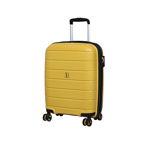 it luggage Asteroid Koffer, 54 cm, 57 liters, Gelb (Cheese Yellow)