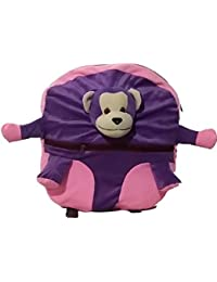 Pari Toys Purple And Pink Color School Bag For Kids, Travelling Bag, Picnic Bag, Carry Bag With Soft Material...