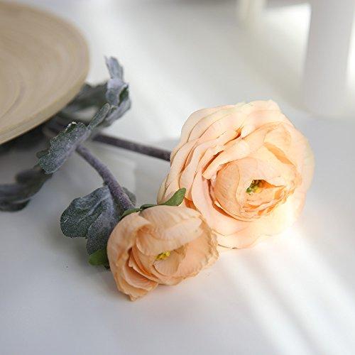 Bestshope Kunstblumen Pfingstrose, Wohnaccessoires & Deko Künstliche Seide Blumen Gefälschte Blumenstrauß Hochzeit Bouquet Bridal Hydrangea Für Party Fest Haus Büro Bar Küche