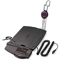 Plantronics A22–Amplificatore con design unico sotto telefono–Passare tenendo una telefonata e ingresso audio a un PC