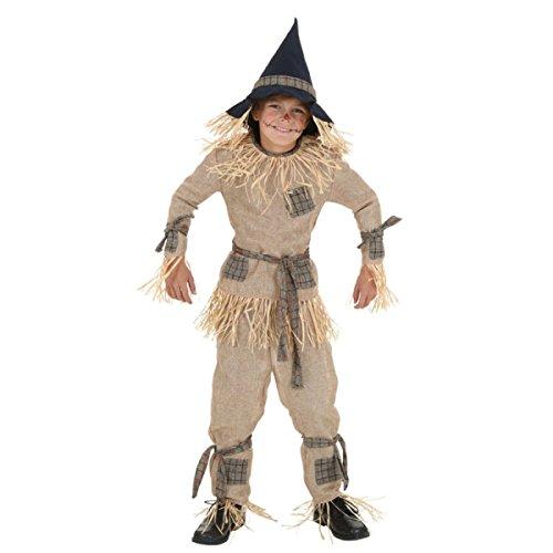 Nihiug Halloween Kostüm Green Oath Bühne Performance Service COS Erwachsene Kinder Leinen Vogelscheuche Kostüm Parenting Desire Interessant (Vogelscheuche Kostüme Kid)