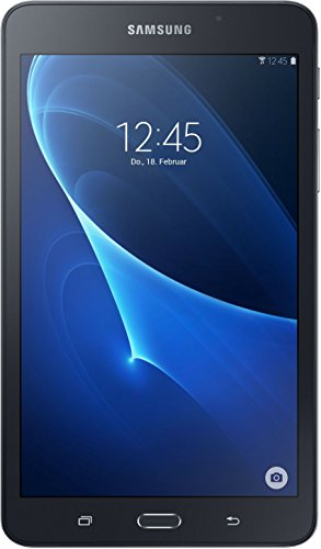 Samsung GALAXY Tab A SM T280 (2016) 17,8cm (7 Zoll) Tablet PC (1,3 GHz Quad Core 1,5GB RAM 8GB HDD Wi Fi Android 5,1) schwarz