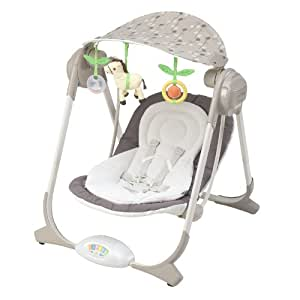 Balancelle chicco altalena polly swing 39 natural amazon for Altalena chicco amazon