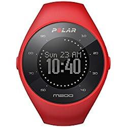 Polar M200 - Reloj de carrera con GPS y frecuencia cardíaca en la muñeca, color rojo