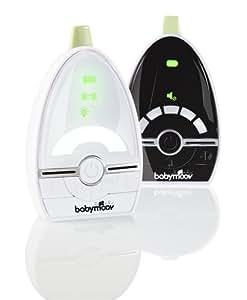 Babymoov Expert Care Babyphone Audio avec Veilleuse VOX et Alarmes, Portée 1000 m