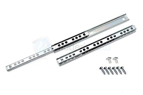 Kugellager-Schienen/-Führungsschienen für Schubladen, 17mm hoch, 246 mm tief, 3 Paar