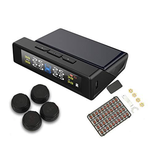 Monitor della Temperatura della Gomma Wireless Ad Alta Precisione per L'Energia Solare con Funzione di Parcheggio per Pneumatici per Auto - Colorati