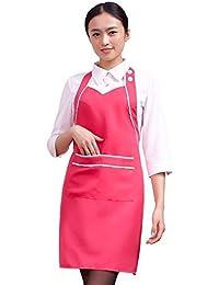 Hermoso delantal Cafetería Delantal Belleza Falda de uñas Bebé Falda Delantal Profesional Cuello falda de trabajo