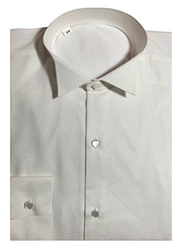 Frackhemd Gentleline, weiß, piqué-look Weiß