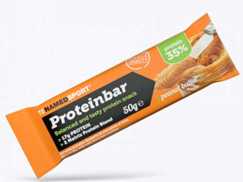 Named Proteinbar 35% Scatola 12 Barrette Gusto Peanut Butter