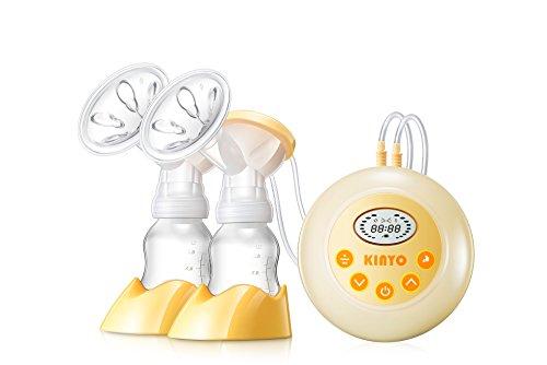 Angeer Elektrische Doppelmilchpumpe, automatische postpartale Prolaktin-Massage