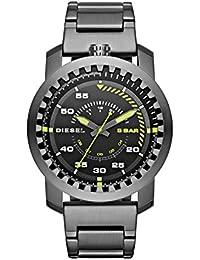 31a335c9d0a0 Diesel Reloj analogico para Hombre de Cuarzo con Correa en Acero Inoxidable  DZ1751