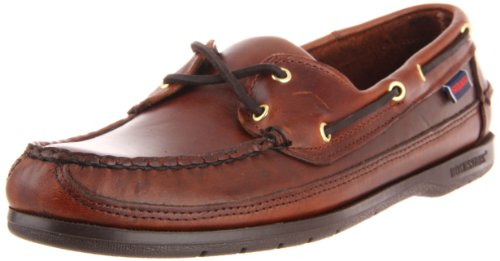 Sebago Schooner, A bout rond homme - (Brown Oiled Waxy) - 43 EU