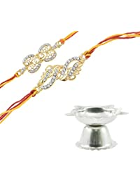 Rakhi For Brothers With Pooja Diya By Alpha Man