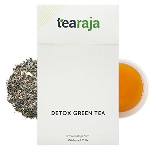 TeaRaja Detox Green Tea 100 Gm-45 Cups|Healthy & Detoxifying|Slimming Tea|Healthy Slim Tea  available at amazon for Rs.299