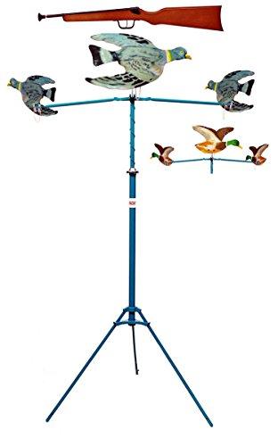 tir aux pigeons modèle SPIRAL mécanique 3 volatiles