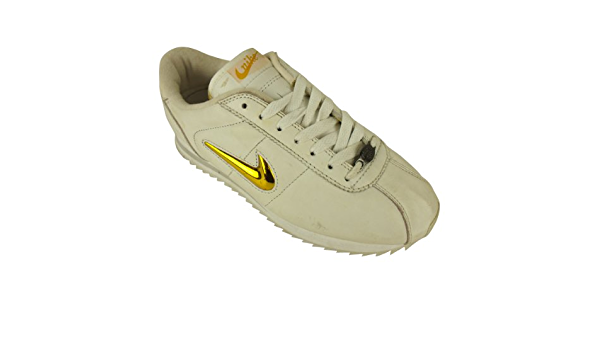 Gold Leather Trainers Womens Trainer