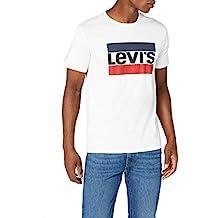 Amazon.es  Camiseta levis hombre blanca - Blanco 0847797df2654