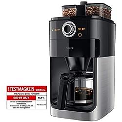 Philips HD7769/00 Machine à café Grind & Brew - Broyeur intégré