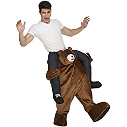 My Other Me Me - Disfraz Ride-on oso, M-L (Viving Costumes 204322)