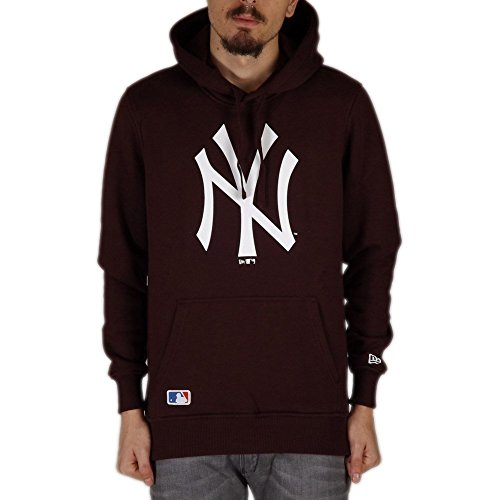 Sudadera capucha New Era – Mlb New York Yankees Po granate talla: L (Large)