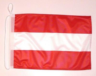 Bootsflagge Österreich Bootsfahne NEU Fahne Flagge