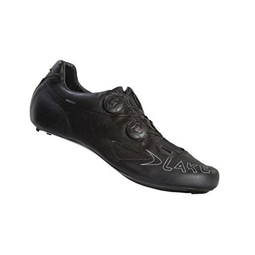 LAKE SHOE CX237 ROAD CARBON TWIN BOA BLACK (Bib Carbon Shorts)